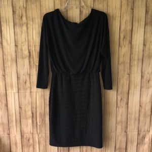 Adrianna Papell Black Cocktail Dress Size 6